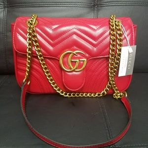 New red Gucci bag